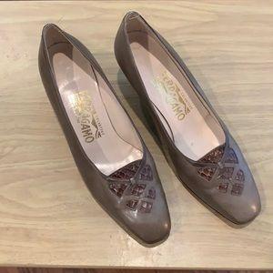 Vintage Salvatore Ferragamo Heels